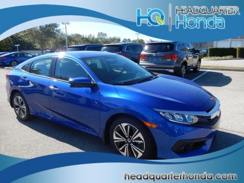 2018 Honda Civic 4DR EX Turbo 6MT