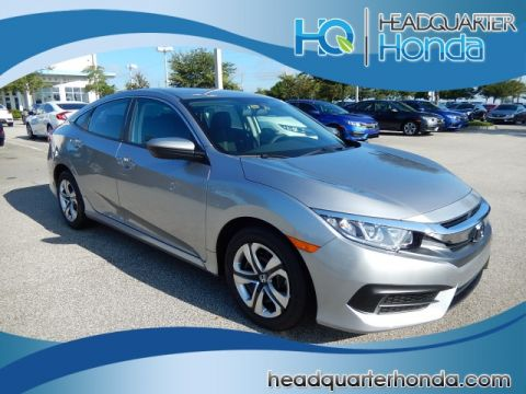New Honda Civic 4DR LX