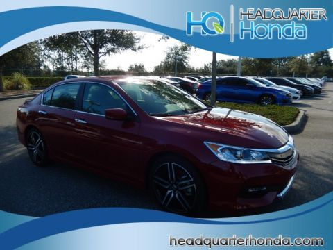 New Honda Accord 4DR Sport SE