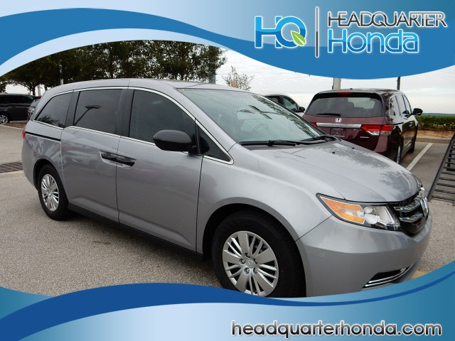 new 2016 honda odyssey lx 4d passenger van near orlando. Black Bedroom Furniture Sets. Home Design Ideas